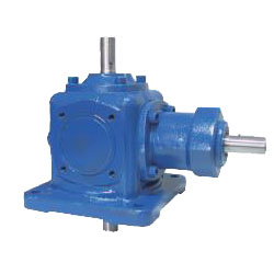 Bevel gear box - Vertical cross shaft / Horizontal lateral shaft - LM-TH-□-□-B□