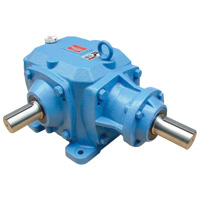 SB type spiral bevel gear box