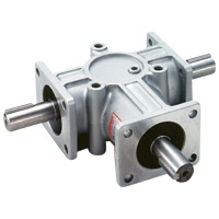 TB-shaped spiral bevel gear box