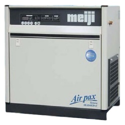 Package Screw Compressor MAS Series (Air Cooled Type / Built-in Air Dryer Type)