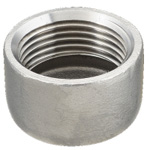 Stainless Steel Screw-In Pipe Fittings, Cap [C]