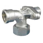 Auxiliary Material for Piping, Fitting, and Plumbing, Fitting for Water Supply Piping, Elbow with Seat