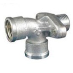 Auxiliary Material for Piping, Fitting, and Plumbing, Fitting for Water Supply Piping, Water Faucet Elbow with Anchor