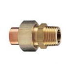 Copper Tube Fitting, Copper Tube Fitting for Hot Water Supply, Copper Tube External Threaded Union