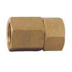 Auxiliary Material for Piping, Fitting, and Plumbing, Fitting for Water Supply Piping, Gunmetal Hex Rotation Socket