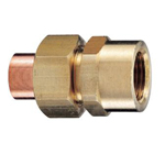 Copper Tube Fitting, Copper Tube Fitting for Hot Water Supply, Copper Tube Internal Threaded Union