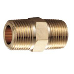 Auxiliary Material for Piping, Fitting, and Plumbing, Fitting for Water Supply Piping, Brass Nipple
