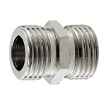Auxiliary Material for Piping, Fitting, and Plumbing, Fitting for Water Supply Piping, Plated Fittings - Parallel Nipples for Flexible Pipes (Stainless Steel)