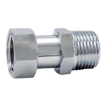 Auxiliary Material for Piping, Fitting, and Plumbing, Fitting for Water Supply Piping, Adapter with Cap Nut - S2VAG