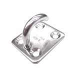 Stainless Steel, Open Eye Plate