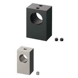 Shaft Supports Bottom Mount Set Screw (Machined) - Wide