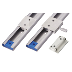 Simplified Slide Rails - Load Rating: 380N, 460N/pc - Stainless Steel, With Ball Bearing, With Lock