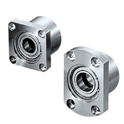 Bearings with Housings - Double Bearings, Retained, L Configurable