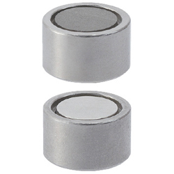 Magnets with Holders - Thin Type