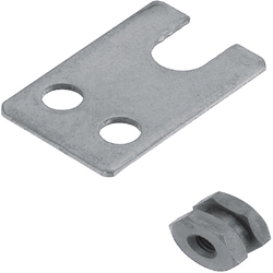 Floating Joints, Quick Connection Type - Sheet Metal Holder Set