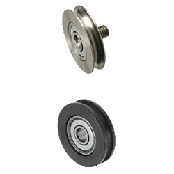 Idlers for Round Belts-Narrow Type/Standard/Threaded