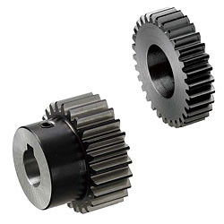 Spur Gears- Induction Hardened, Pressure Angle 20°