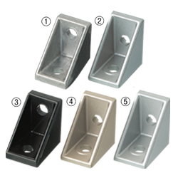 Tabbed Reversal Brackets -For 1 Slot - For 6 Series (Slot Width 8mm) Aluminum Extrusions