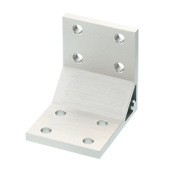 Thick Brackets - For 2 Slots - For 8 Series (Slot Width 10mm) Aluminum Extrusions