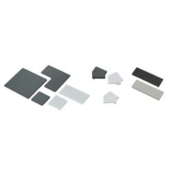 Extrusion End Caps - For 8 Series (Slot Width 10mm) Aluminum Extrusions