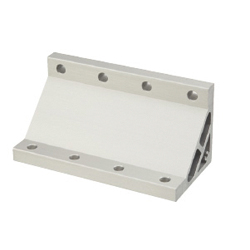 Extruded Brackets - For 4 Slots / Thin Brackets - For 8-45 Series (Slot Width 10mm) Aluminum Extrusions