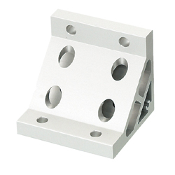 Tabbed Brackets / Extruded Brackets - For 2 or More Slots - For 8-45 Series (Slot Width 10mm) Aluminum Extrusions