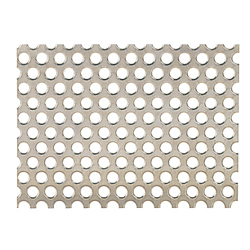Perforated Metal Sheets - 60° Staggered Round Holes