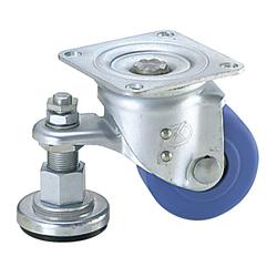 Casters with Adjustment Pads/Heavy Load Type
