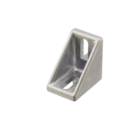 Tabbed Brackets - For 1 Slot - For 5 Series (Slot Width 6mm) Aluminum Extrusions - Nut Mounting Brackets