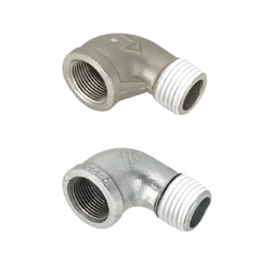 Low Pressure Fittings/Seal Coating/90 Deg. Elbow/Threaded and Tapped