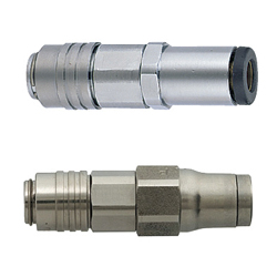 Connectors Guide / Air Couplers - Tube Connection - Straight