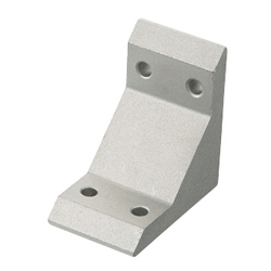 Tabbed Brackets - For 2 Slots - For 5 Series (Slot Width 6mm) Aluminum Extrusions