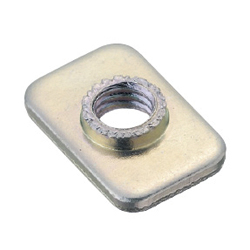 Pre-Assembly Insertion Square Nuts - For 5 Series (Slot Width 6mm)