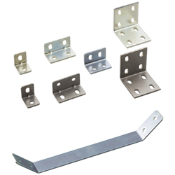 Sheet Metal Bracket For 6 Series (Slot Width 8mm) Aluminum Extrusions - Bent-Shaped