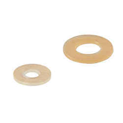 Urethane Washers - Adhesive - Temperature limit for seals is 80°C.