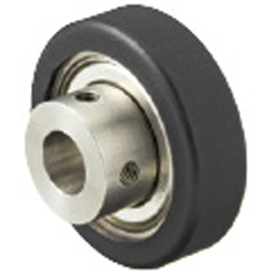 Silicon Rubber / Urethane Molded Bearings - Hubbed Type