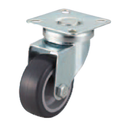 Casters - Light Load- Wheel Material: TPE - Swivel Type