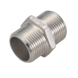Low Pressure Screw Fittings  Equal Dia.  Hex Nipples