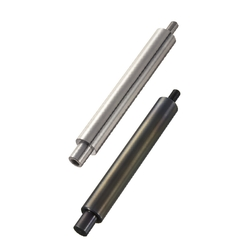 Linear Shafts-One End Stepped and Tapped, One End Threaded / One End Stepped, One End Threaded