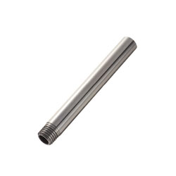 Shafts - One End Threaded Hollow Shafts - One End Threaded Hollow Shafts with Wrench Flats / One End Threaded Hollow Shafts