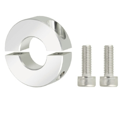 Shaft Collar Threaded Inserts (Lightweight) - Aluminum, Split