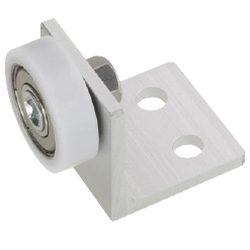 Engineered Plastic Bearings - Flat Type with Bracket