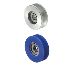 Guide Rollers-V Groove/For Wire/For L Channel Track/For Wire Cable