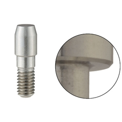 Locating Pins - High Hardness Stainless Steel Large Head, Tapered (Threaded)