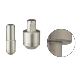 Locating Pins - High Hardness Stainless Steel, Small Head, Tapered (Press Fit)