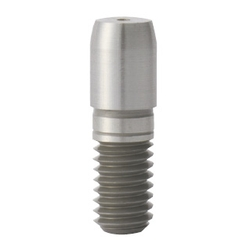 Locating Pins - Large Head, Round Tapered, D and P Tolerance, Taper R Selectable -, Threaded