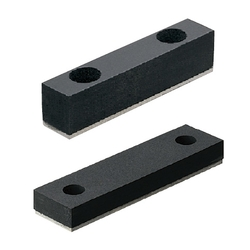Urethane Stoppers with Plates-Standard Type/Low Elastic Rubber Type