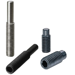 Hexagon Socket Screws - Dog Point - Hex Socket Set Screws / Hex Socket Set Screws, Stainless Steel
