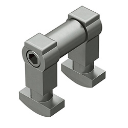 Blind Joint Components - Post Assembly Insertion Double Joint Kits for 6 Series (Slot Width 8mm) Aluminum Extrusions