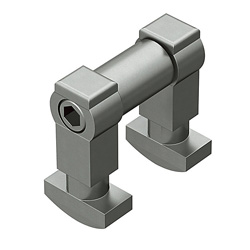 Blind Joint Components - Post Assembly Insertion Double Joint Kits for 8 Series (Slot Width 10mm) Aluminum Extrusions